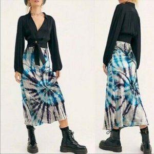 Free People Tie Dye Pisces Skirt